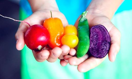 alimentação colorida - dicas de reiki para iniciantes: alimentação saudável