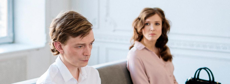 crise no relacionamento - casal chateado