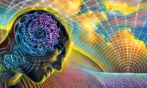 ilustração: formas-pensamento negativas alex grey