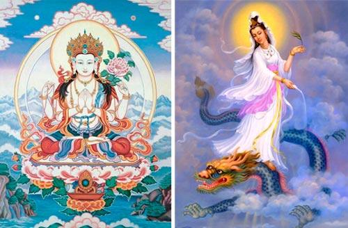 Karuna Reiki para Iniciantes - Avalokiteshvara e Kuan Yin