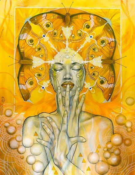 ilustração de patricia ariel - mensagem de setembro amarelo