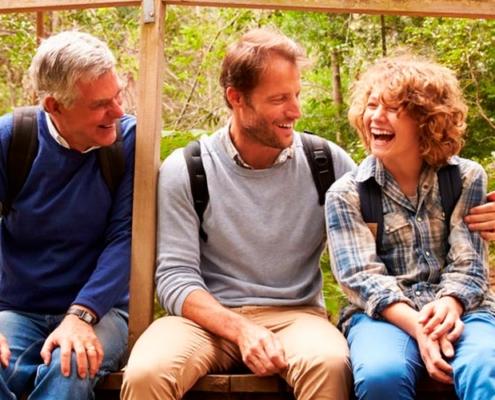o papel do pai na constelação familiar e sagrado masculino - avo, pai, filho