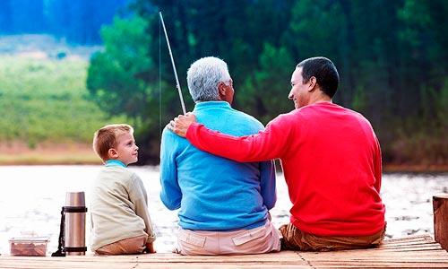 o papel do pai na constelação familiar: ancestralidade masculina: geração avo, pai e filho