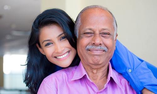 constelação familiar: pai e filha