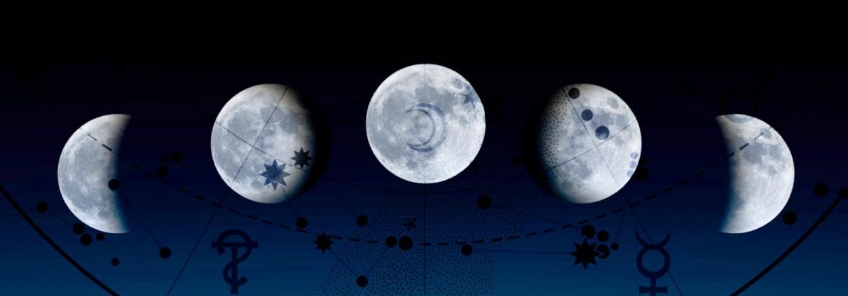 a Lua nos signos e no mapa astral - fases da lua