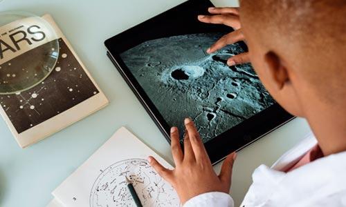 a Lua no Mapa Astral e a Lua nos signos - representação