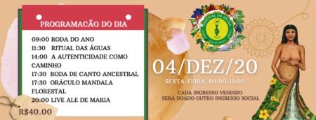 festival da deusa 2020 - programação