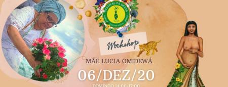 festival da deusa Mãe Lucia Omidewa
